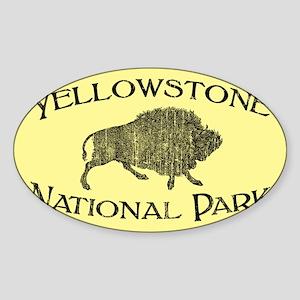 Yellowstone National Park (Bison) Sticker
