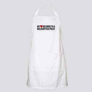 My Heart Helicopter Pilot Apron