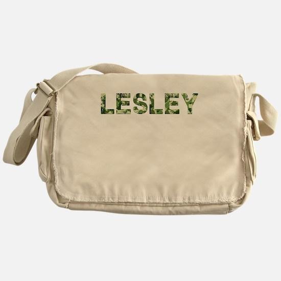Lesley, Vintage Camo, Messenger Bag