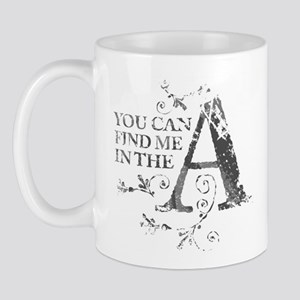 The A Mug