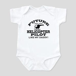 Future Helicopter Pilot Infant Bodysuit