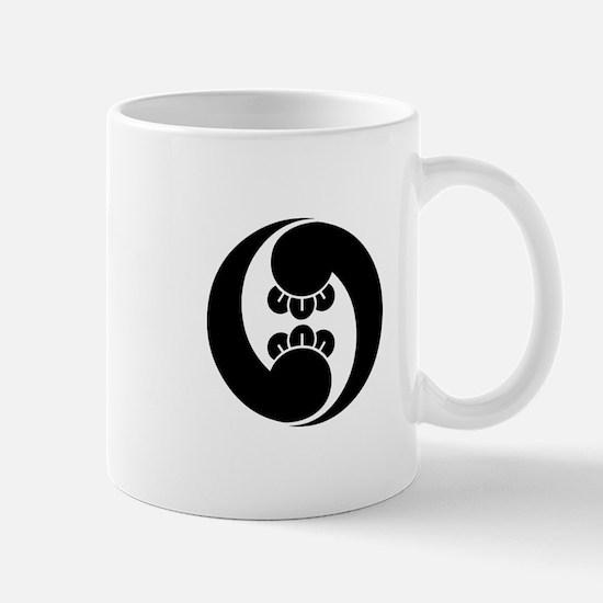 Right, two clove swirls Mug