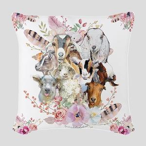 GOATs | Watercolor Goat Portraits GetYerGoat™ Wove
