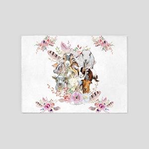 GOATs | Watercolor Goat Portraits GetYerGoat™ 5'x7