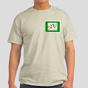 Sukkot Happy Succah Time Light T-Shirt