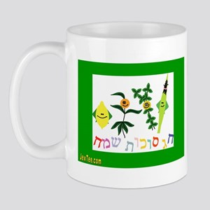 Sukkot Happy Succah Time Mug