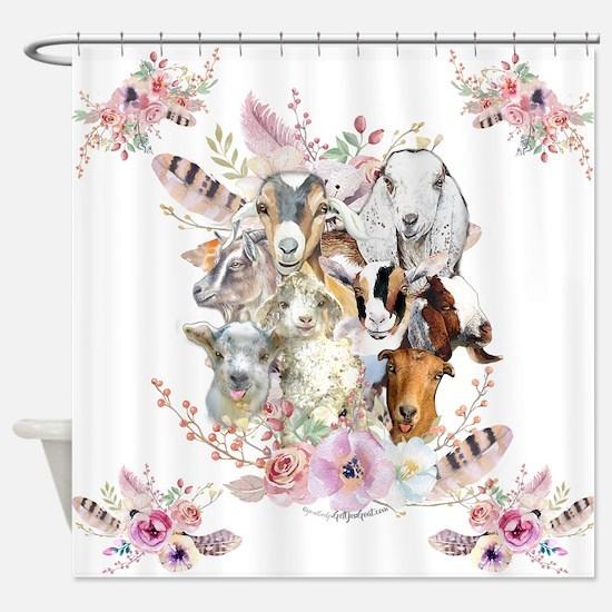 GOATs | Watercolor Goat Portraits GetYerGoat™ Show