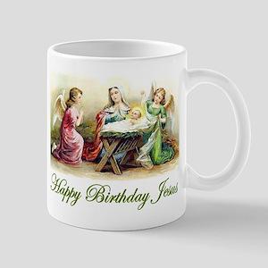 Happy Birthday Jesus Mug