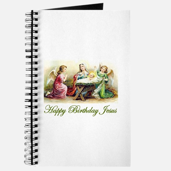 Happy Birthday Jesus Journal