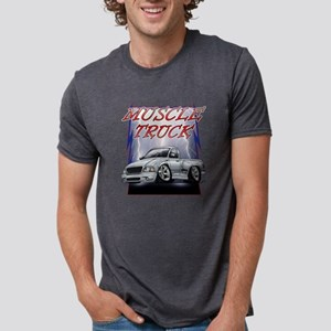 Silver G2 Lightning Mens Tri-blend T-Shirt