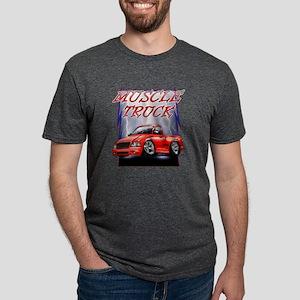 Red G@ Lightning Mens Tri-blend T-Shirt