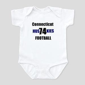 LaMagdelaine uconn football Infant Bodysuit