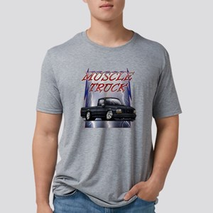 Black G1 Lightning Mens Tri-blend T-Shirt
