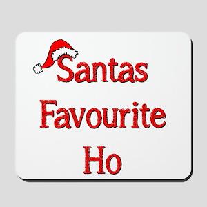 Santas Favourite Ho Mousepad