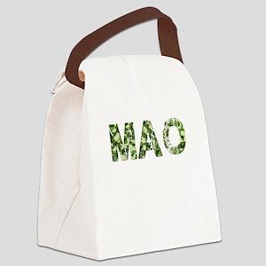 Mao, Vintage Camo, Canvas Lunch Bag