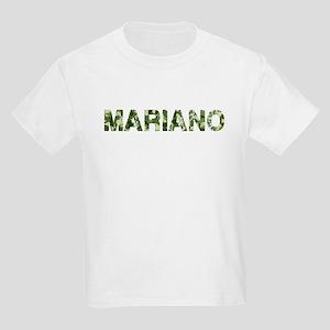 Mariano, Vintage Camo, Kids Light T-Shirt