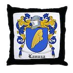 Lanuza Coat of Arms Throw Pillow