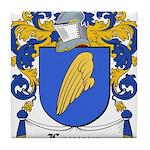 Lanuza Coat of Arms Tile Coaster