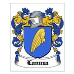 Lanuza Coat of Arms Small Poster