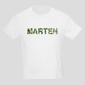 Marten, Vintage Camo, Kids Light T-Shirt