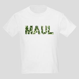 Maul, Vintage Camo, Kids Light T-Shirt
