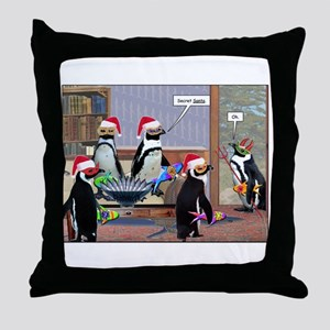 Secret who...? Throw Pillow