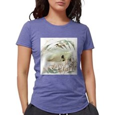 Surf Grunge Womens Tri-blend T-Shirt