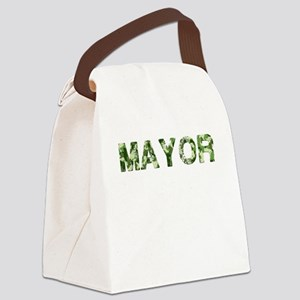 Mayor, Vintage Camo, Canvas Lunch Bag