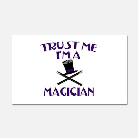 Trust Me I'm a Magician Car Magnet 20 x 12