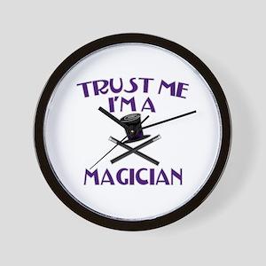 Trust Me I'm a Magician Wall Clock