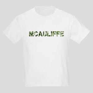 Mcauliffe, Vintage Camo, Kids Light T-Shirt