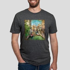 Vintage Venice Photo Mens Tri-blend T-Shirt