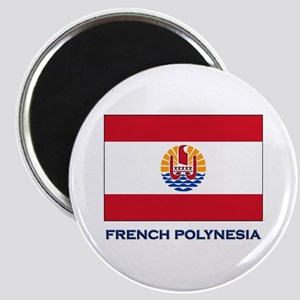 French Polynesia Flag Stuff Magnet