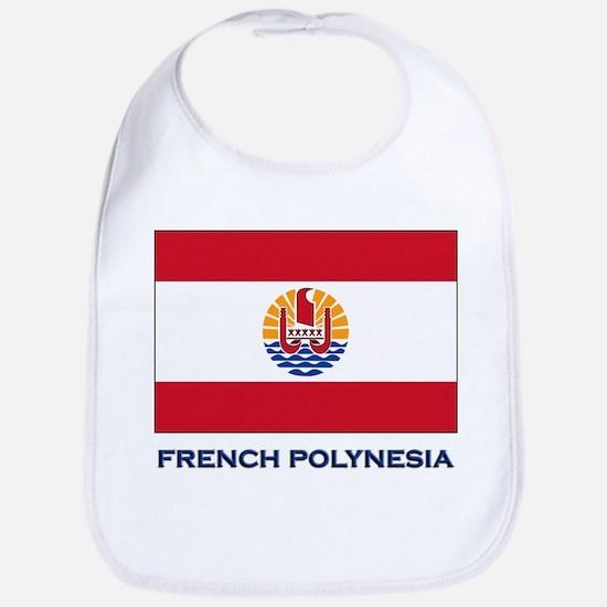 French Polynesia Flag Stuff Bib