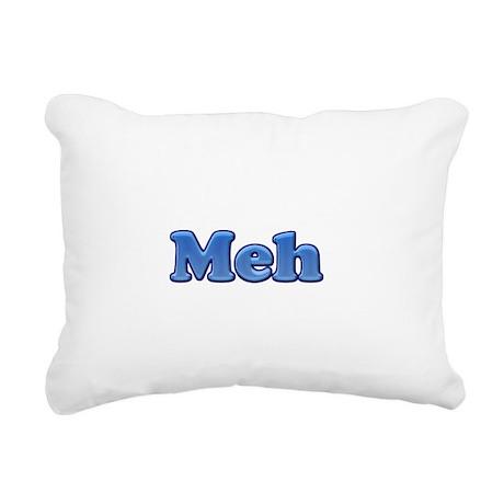Meh 1.png Rectangular Canvas Pillow