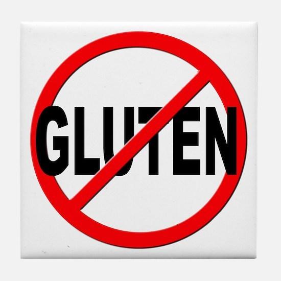 Anti / No Gluten Tile Coaster