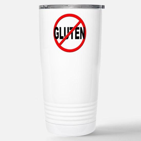 Anti / No Gluten Stainless Steel Travel Mug