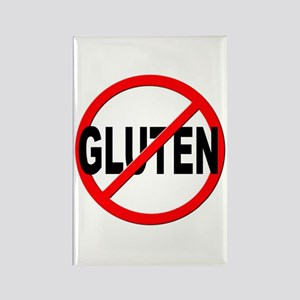 Anti / No Gluten Rectangle Magnet