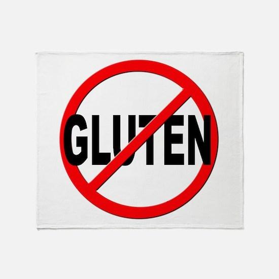 Anti / No Gluten Throw Blanket