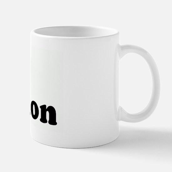 I Love abortion Mug