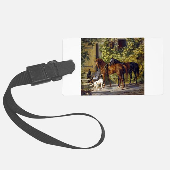 Cool Horse Luggage Tag