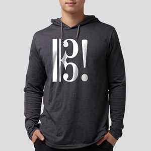 AltoClefExclaimed2 Mens Hooded Shirt