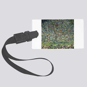 Gustav Klimt Apple Tree Large Luggage Tag