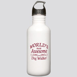Awesome Dog Walker Stainless Water Bottle 1.0L