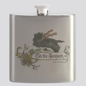 Scottish Terrier Season Flask