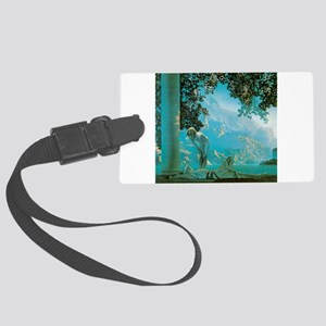 Maxfield Parrish Daybreak Large Luggage Tag