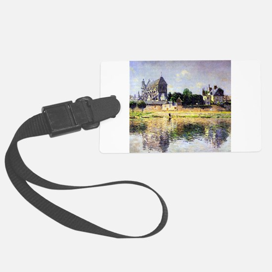 Monet's Garden in Vetheuil Luggage Tag
