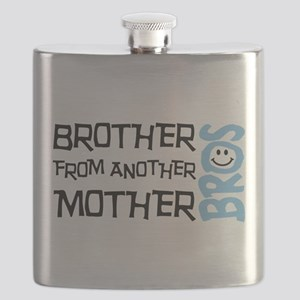Brother Mother Smile Flask