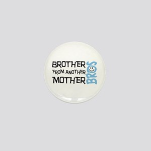 Brother Mother Smile Mini Button
