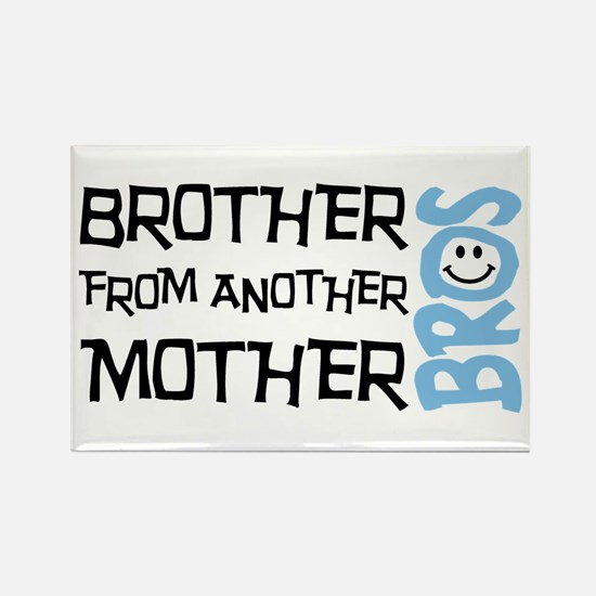 Brother Mother Smile Rectangle Magnet (100 pack)